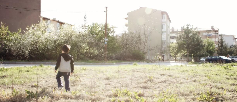 şehirde yeşil alan ihtiyacı...