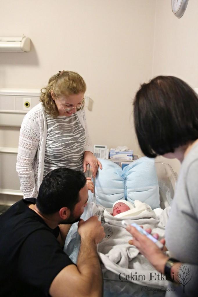 Demir'in doğum çekimi hikayesi