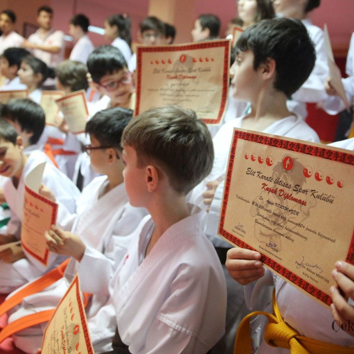 Elit Karate İSK Kuşak Sınavı  (21.06.2015)
